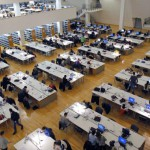 Split, 01.02.2013 - Studenti se pripremaju za zimske ispitne rokove u Sveucilisnoj knjiznici